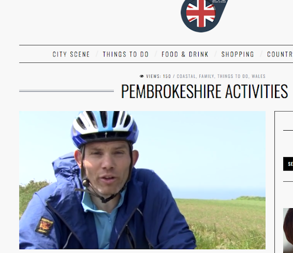Visit Britain Activities Pembrokeshire