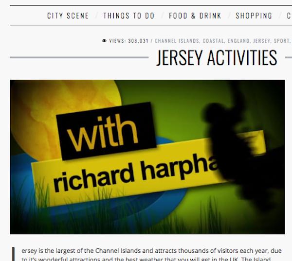 Visit Britain Activities on Jersey