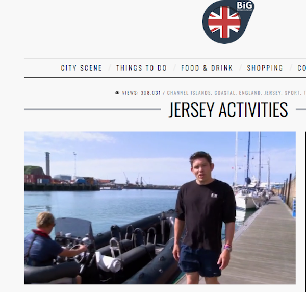 Visit Britain Activities on Jersey