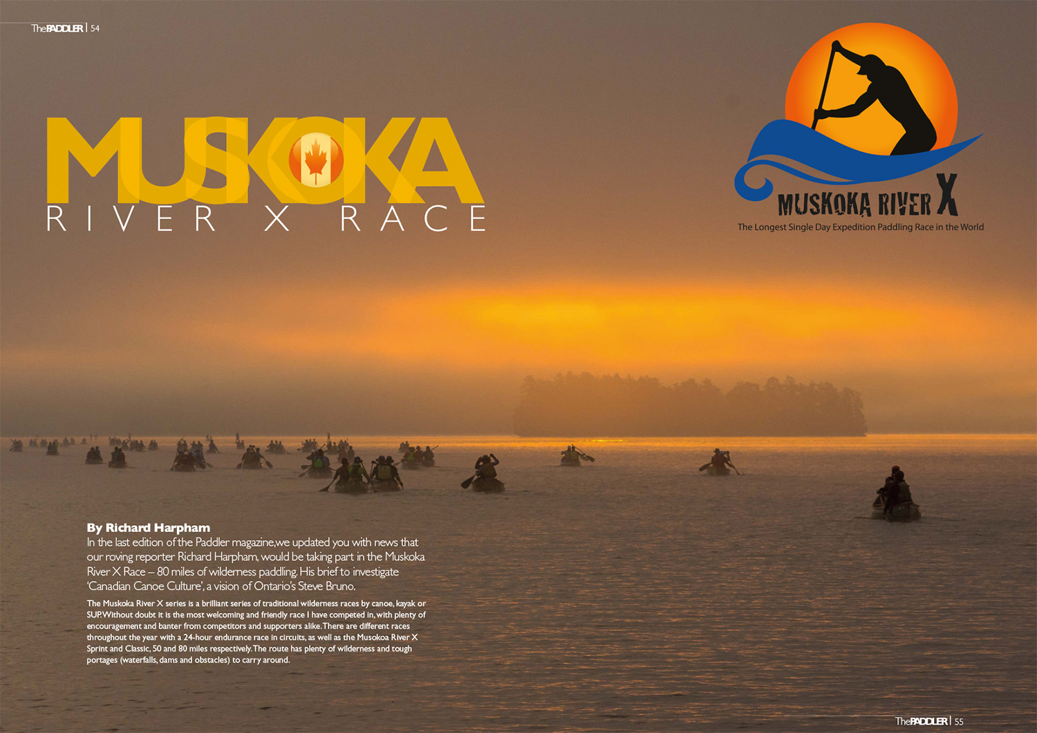 Muskoka River X Feature in Paddler Magazine