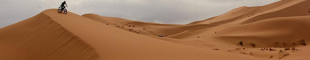 Cycling the Sahara Desert by Surly Fat Bike